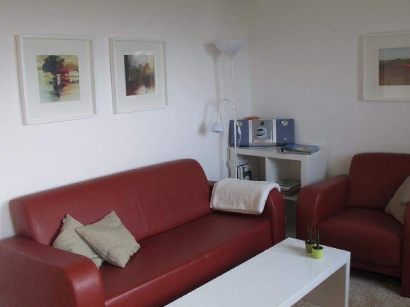 Elegante Sitzecke im Wohnbereich